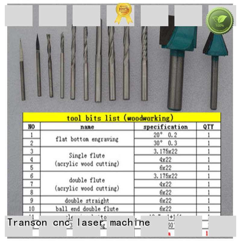 Transon popular cnc router bits best supply high quality