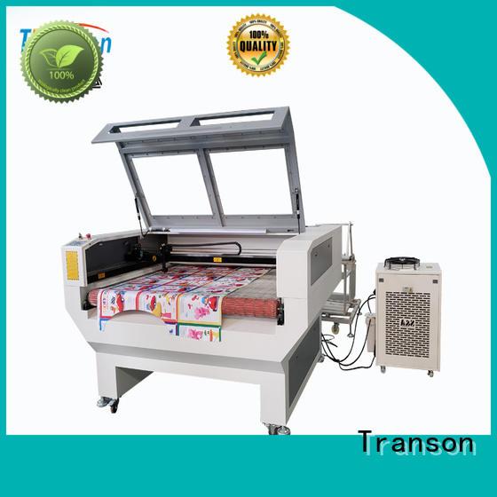 Transon laser cutting machine leather high performance advanced technology