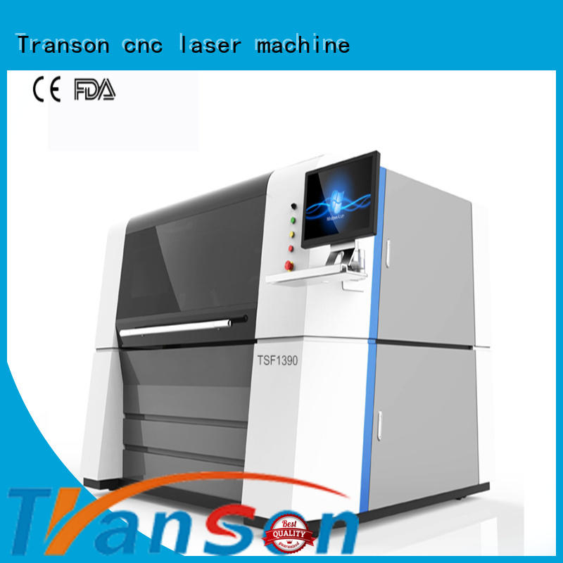 Transon fiber cutting machine high performance for metal