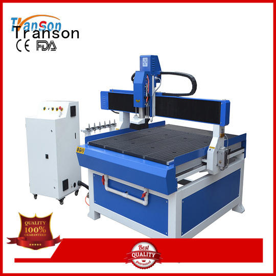 Transon tabletop cnc router metal engraving best factory price
