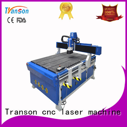 Transon cnc router 1325 cnc easy operation