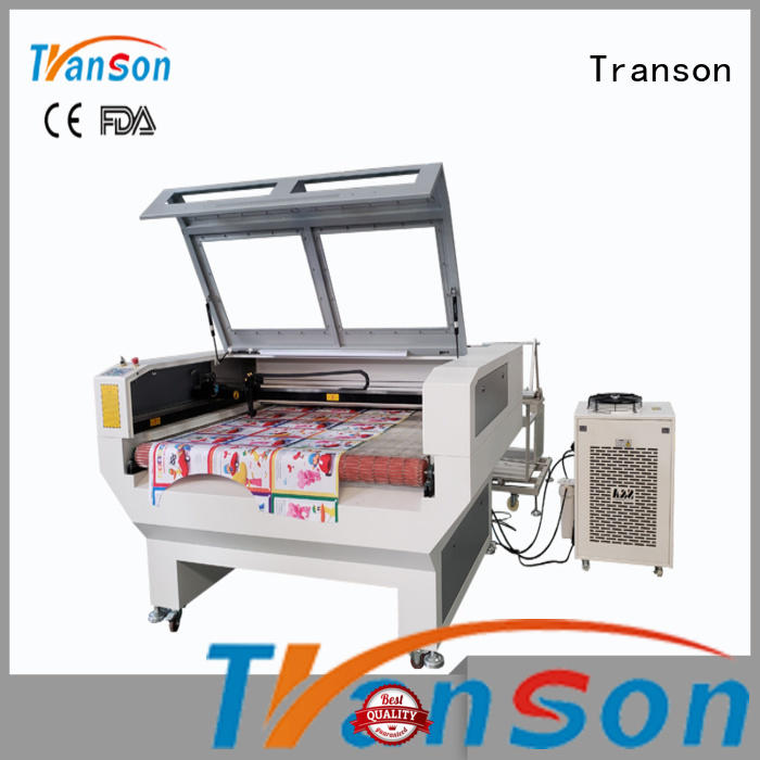 Transon laser cut leather high performance fast delivery