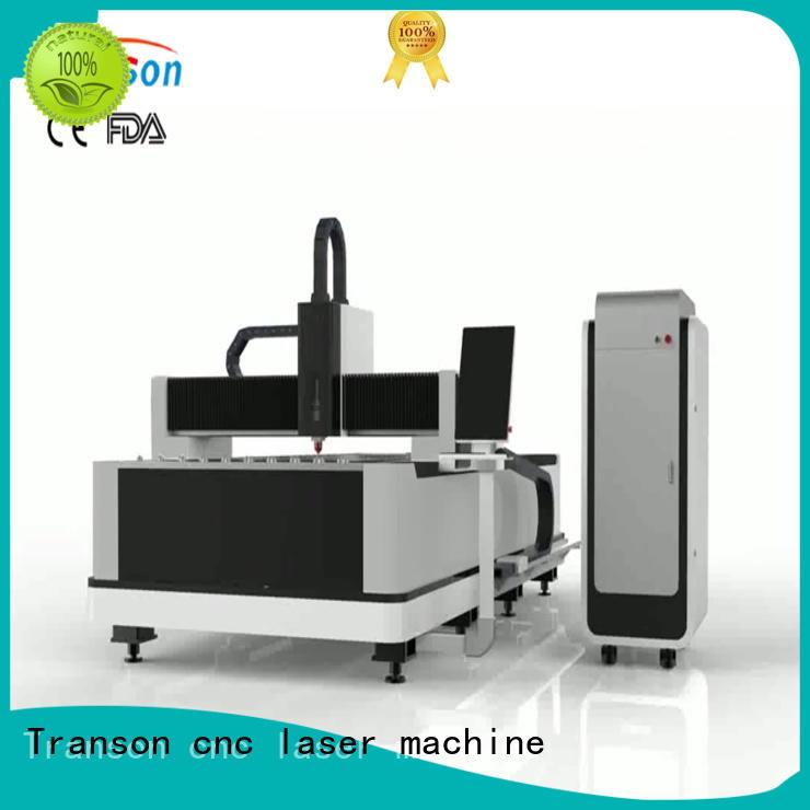 fiber cutting machine high quality advanced technology Transon