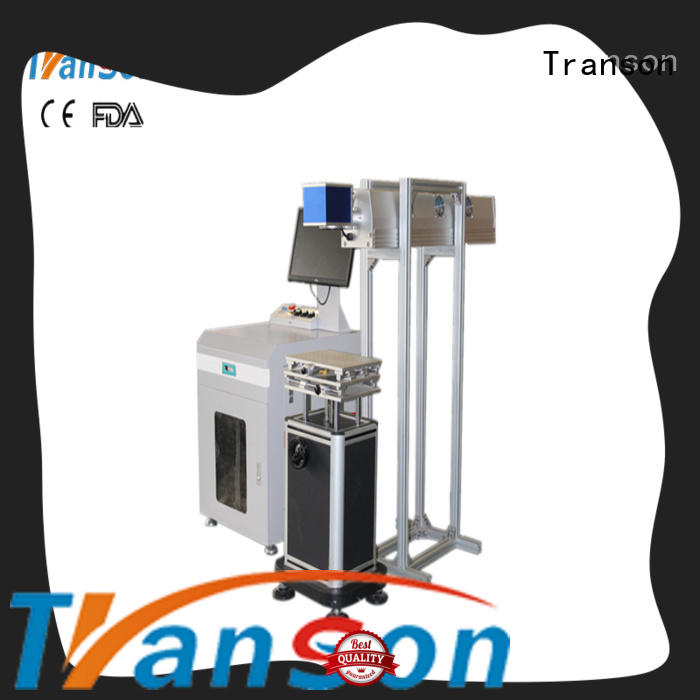 Transon custom co2 laser marking machine high quality for metal