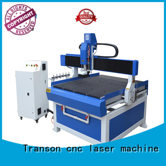 Transon atc cnc router stainless steel marking easy operation