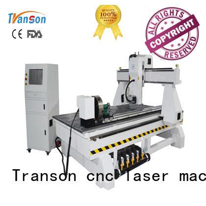 Transon wood cnc router machine custom wholesale