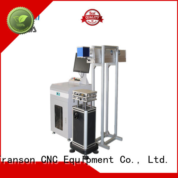 Transon co2 laser marking machine high performance for metal